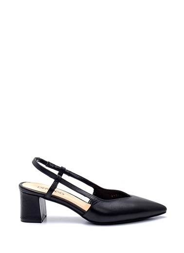 Derimod Kadın Ayakkabı (883-04) Gova/Stiletto Siyah